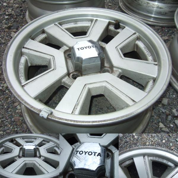detais Carina GT-R rims on auctions.yahoo.co.jp