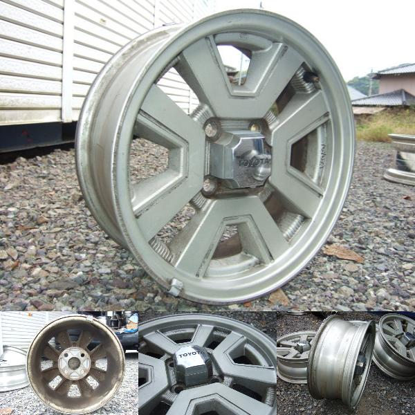 clean Carina GT-R rims on auctions.yahoo.co.jp