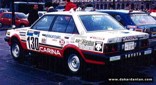 Carina in 1982 Paris-Dakar
