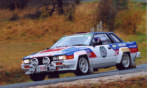 Nissan Silvia BS110 240RS in action
