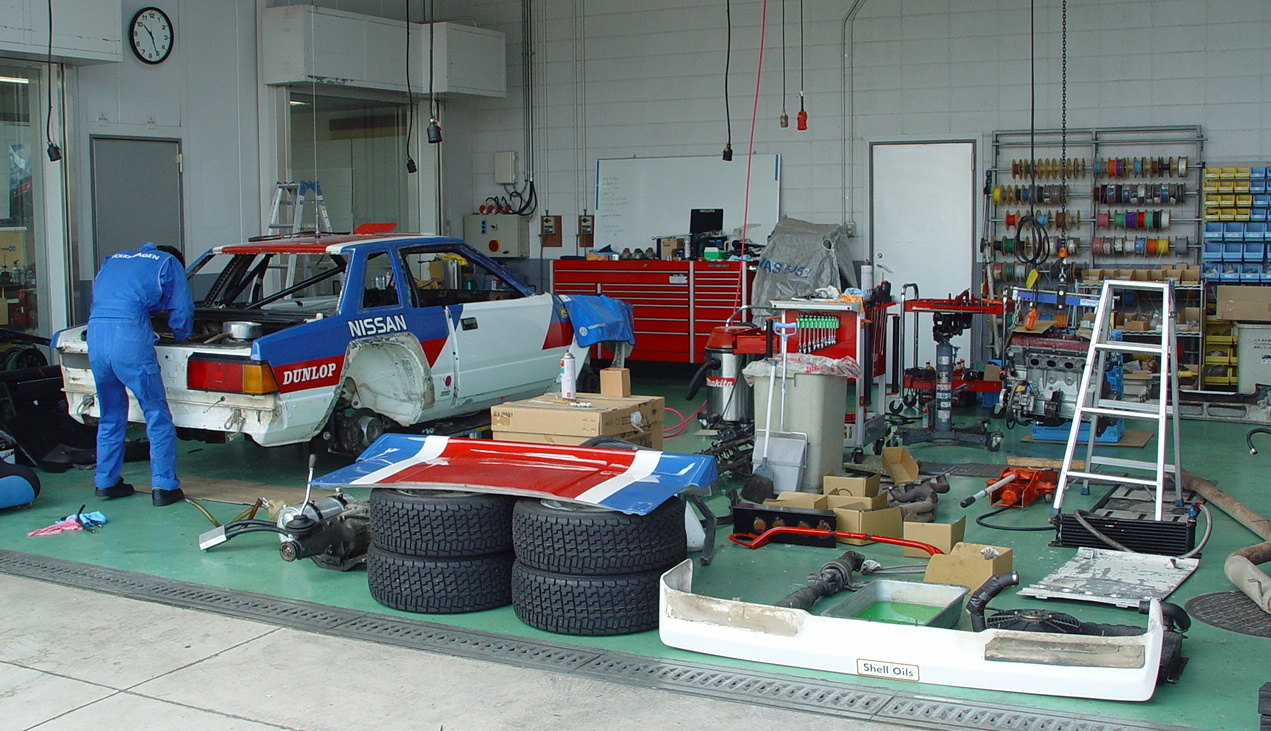 Start of Nissan Silvia BS110 240RS restoration