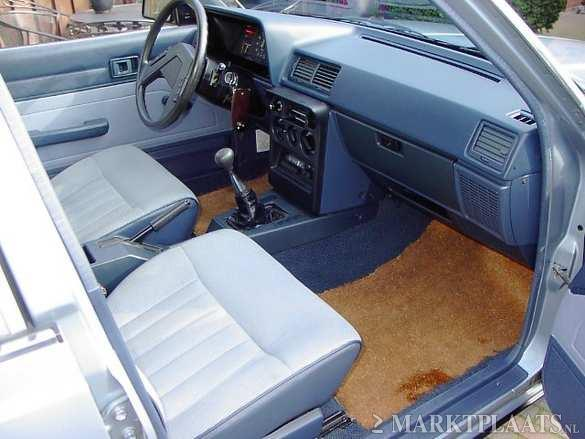 Blue interior frontside Toyota Carina DX TA60 for sale on Marktplaats
