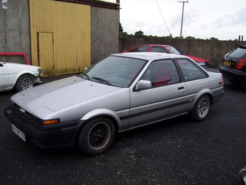 How the Trueno looked after I sold it