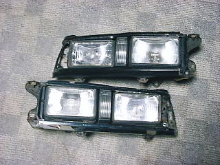 JDM AA63 Carina double headlights
