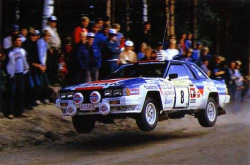 Nissan BS110 RS240 in action