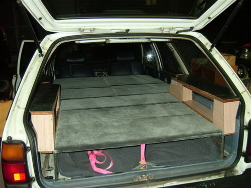 Even a bed in the Carina Surf