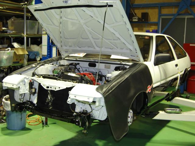 impulse 1983 Sprinter Trueno rebuild