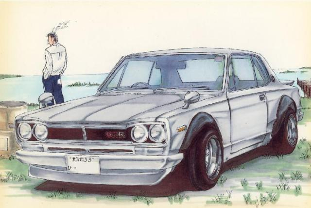 Arthur and the Hakosuka Skyline KPGC10
