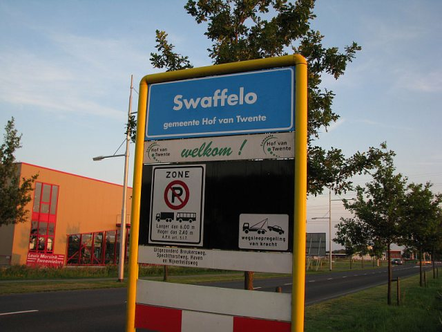 Dutch town Goor (dirty) got renamed to Swaffelo (dickslap)