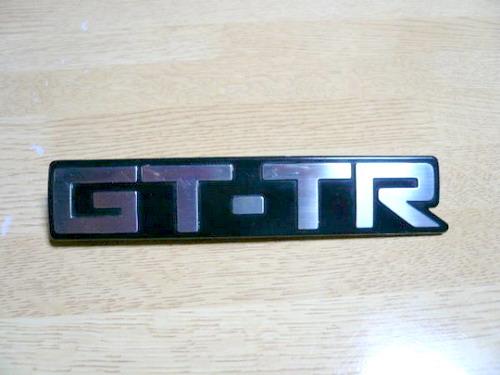 TA63 Carina GT-TR badge