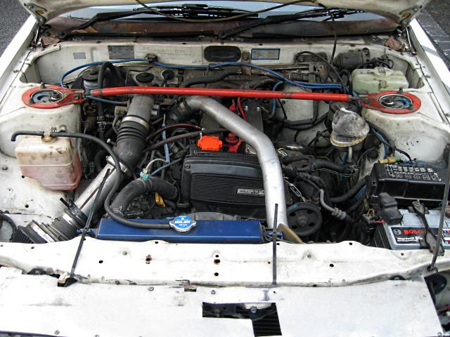 4AGZE in the enginebay of a Carina AA63