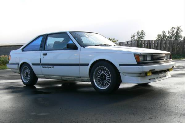 Toyota Carina GT-R E-AA63 Coupe on auctions.yahoo.co.jp