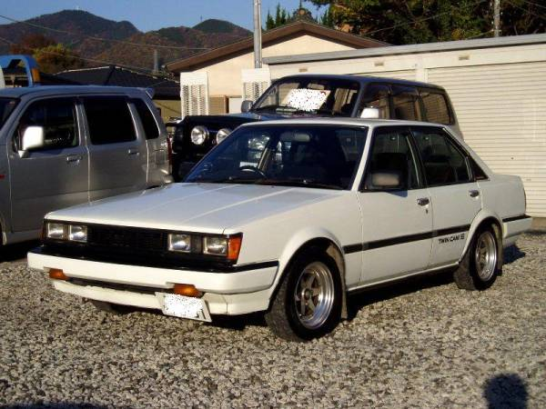 Toyota Carina GT-R E-AA63 Sedan on auctions.yahoo.co.jp