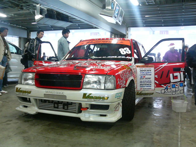 TRD Comfort GTZ racecar with Turbo-ed 3S-FE