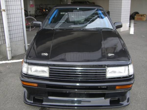 Trashed Toyota Corolla AE86 on auctions.yahoo.co.jp