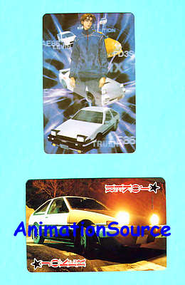 useless initial d merchandising on ebay: poker card deck