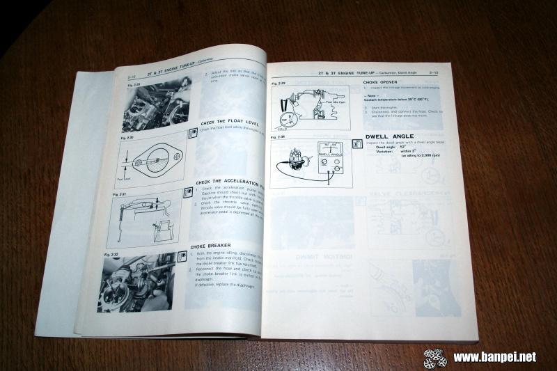 My Carina: Toyota T series engine repair manual - Banpei net