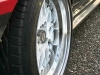 Beautiful Doridori rims on Oldskull's AE86