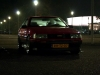 Oldskull's AE86 in the dark