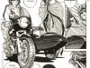 BMW R75/5 with Harley Davidson Ultra sidecar