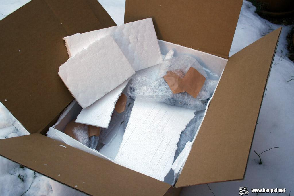 Well packaged with foam and polystyrene