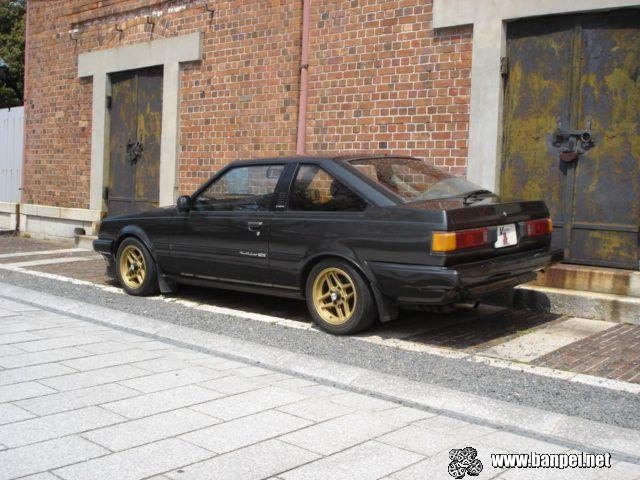 Toyota Carina GT-R AA63 coupe on Japan Vintage