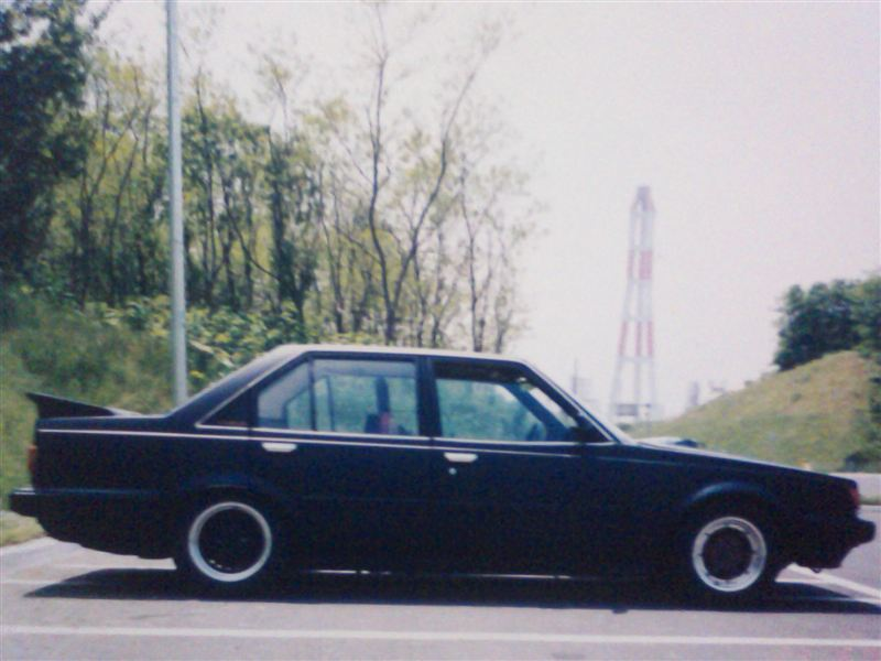 Carina AA63 with big spoiler and hood scoop