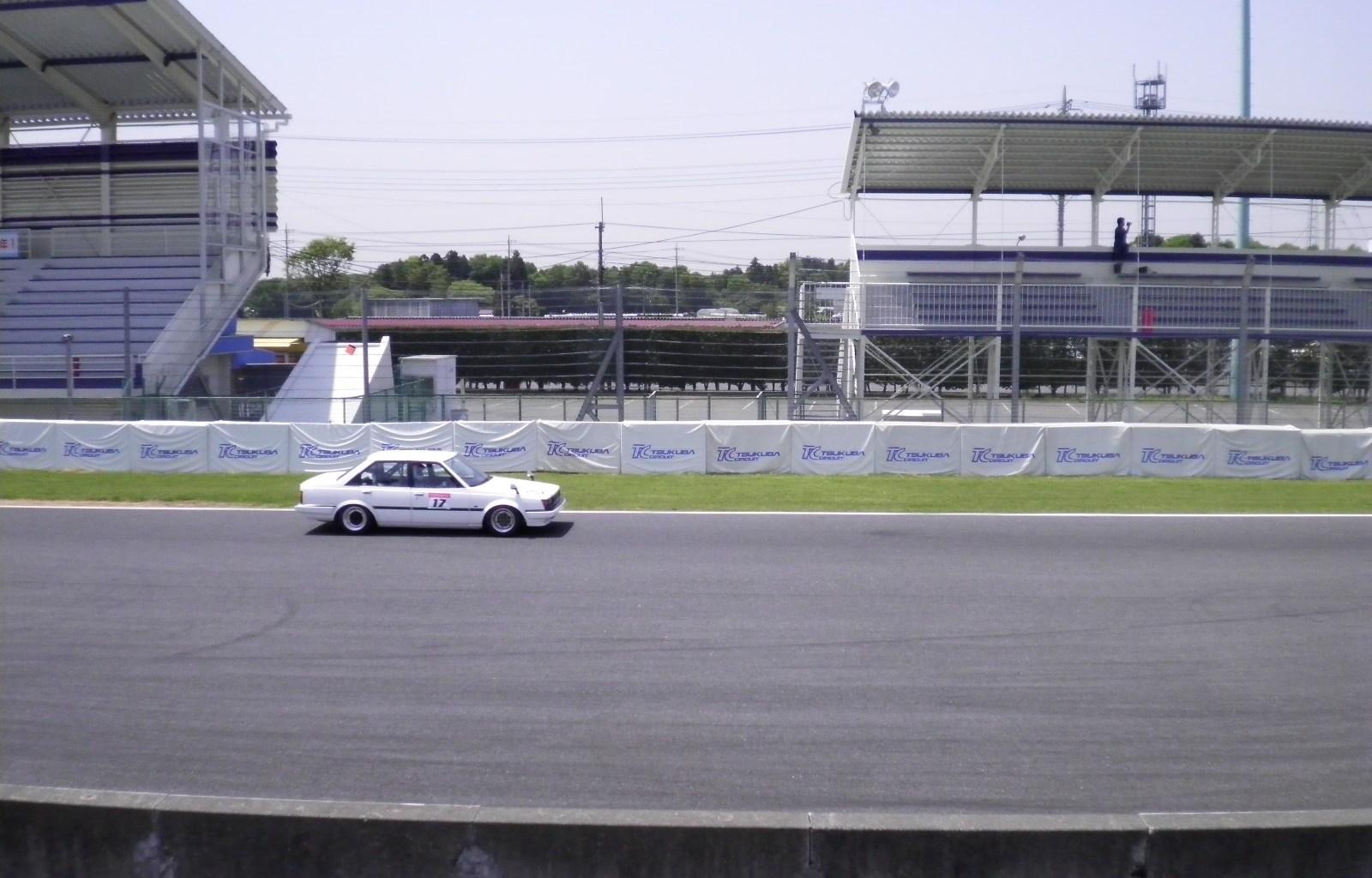 Carina AA63 on Tsukuba circuit