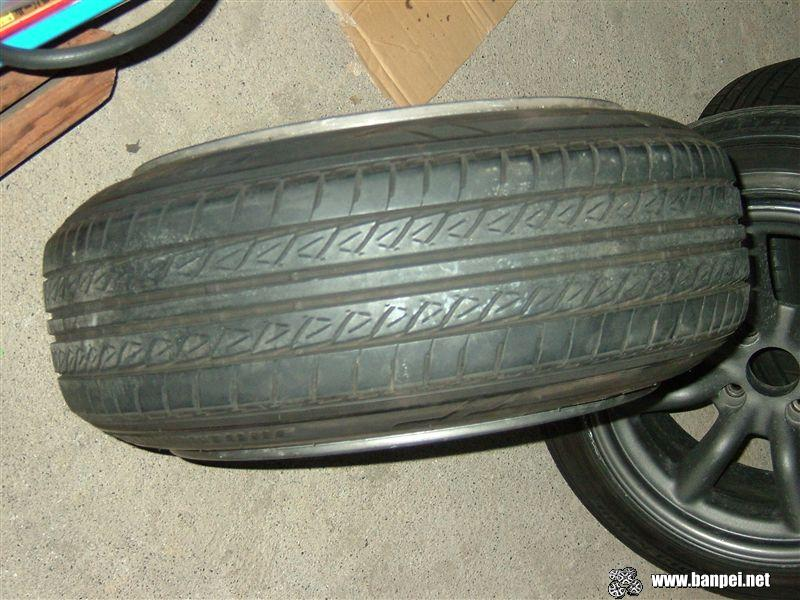 Stretch the tire 175/60/16 to the max on a 8.5J rim!