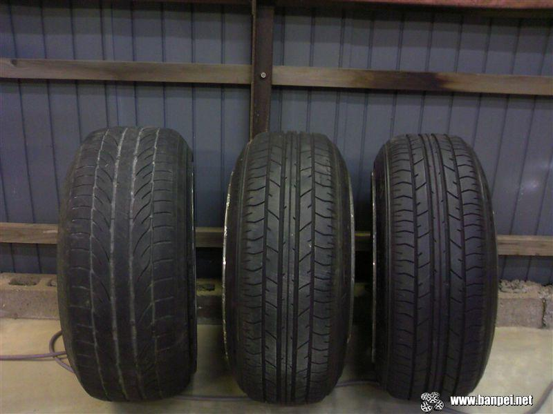 Compare the lot: 195/50 on 8.5J vs 175/55 on 8.5J vs 175/55 on 8J