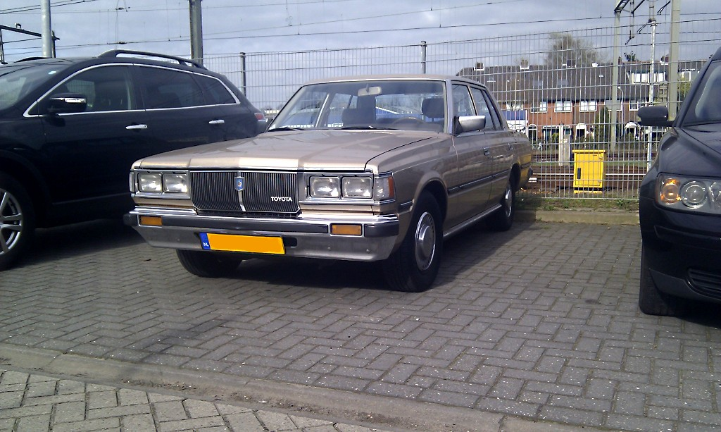Brown Toyota Charlottesville >> Dots Brown Toyota Crown Ls110 Banpei Net