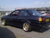 Toyota Corolla AE86 with 3SGE Beams blacktop
