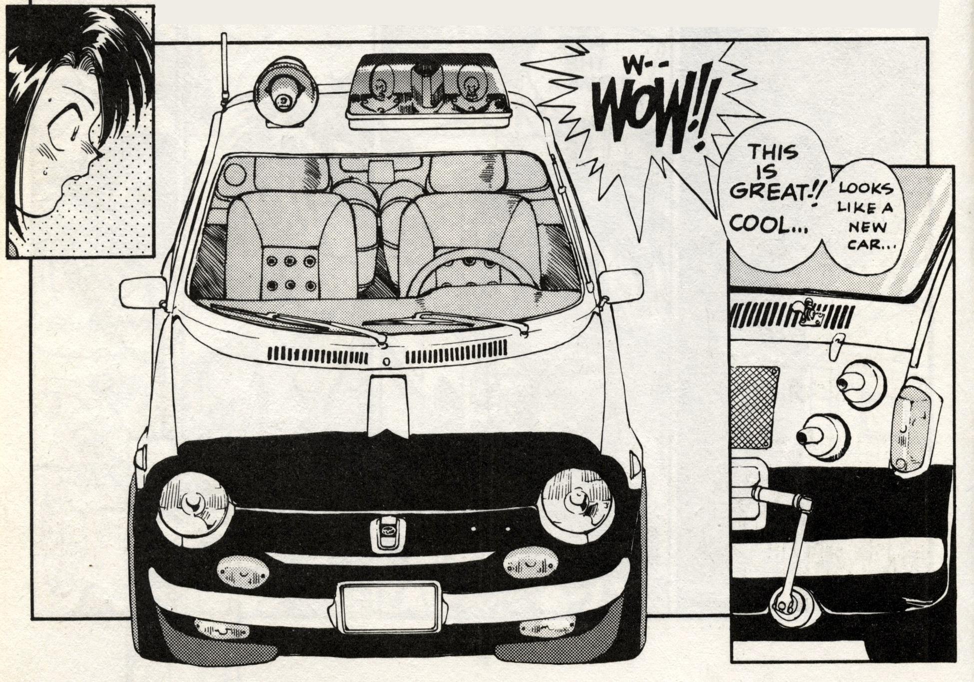 Subaru R-2 SS police special