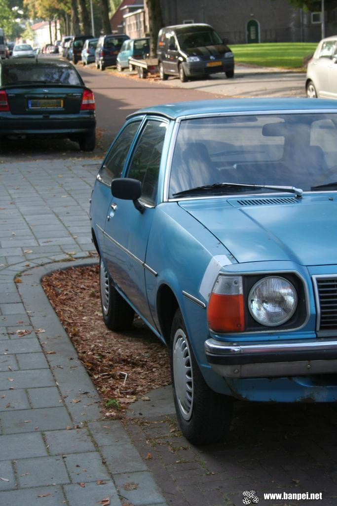 Down on the Street: Mazda 323 mk1