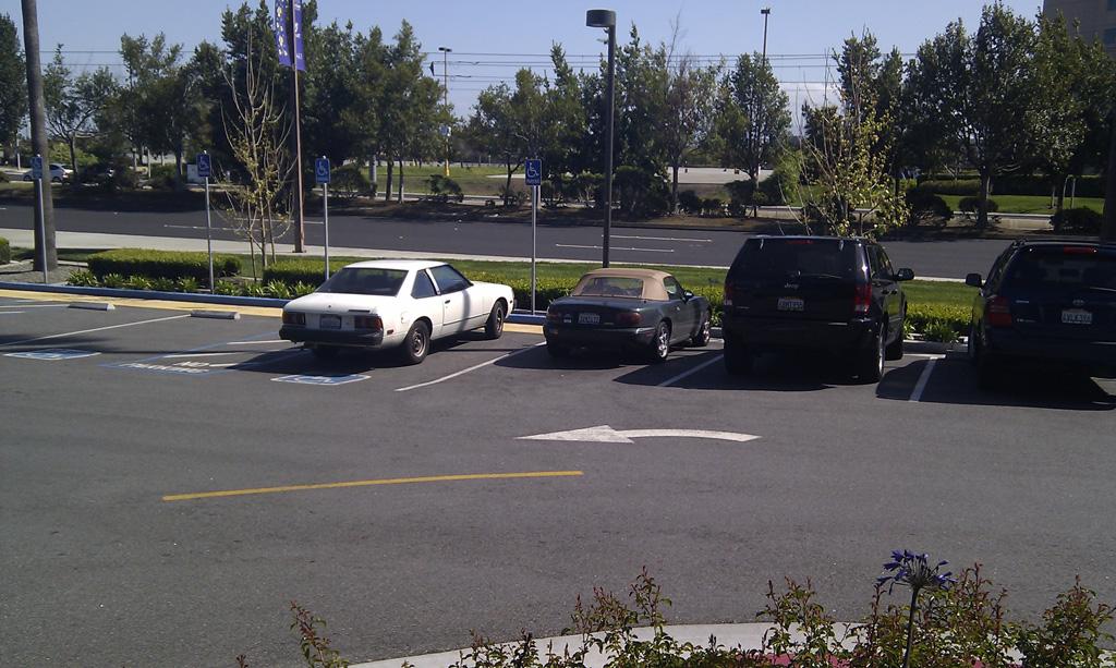 Green Mazda Miata NA in Santa Clara