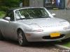 Silver Mazda Miata