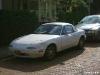 White Mazda Miata