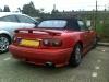 1994 Red Mazda MX5 NA
