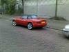 Red 1990 Mazda MX5 NA