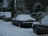 Snow covered Mazda MX5
