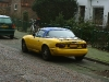Yellow 1990 Mazda Miata