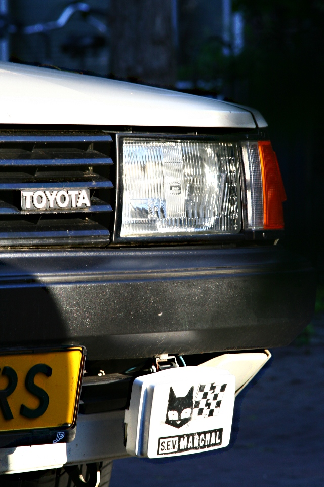 Carina TA60 headlight and foglight