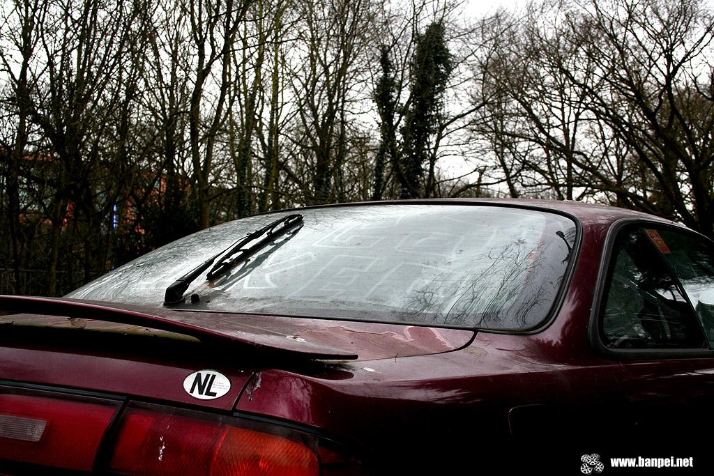 Down on the street: Nissan 200SX S14 rustoseum