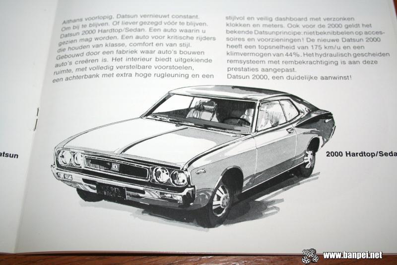 Dit is Datsun: Dutch catalogue (2000 Hardtop Coupe)