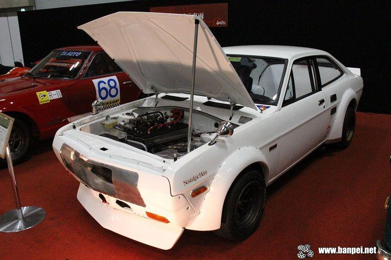 Nostalgic 2 days: Nissan Sunny B110 race car