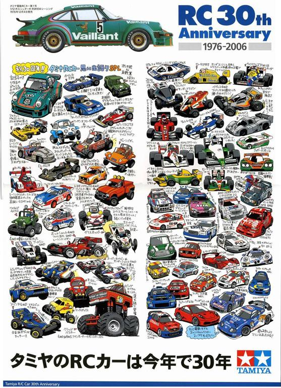 30 years of Tamiya R/C cars