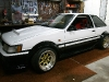 Toyota AE86 windhield replacement Daewoo Nexia