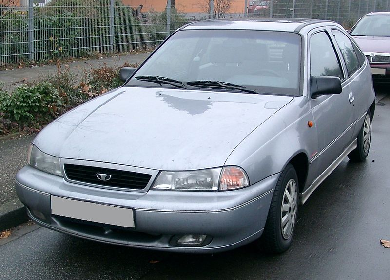 AE86 windshield replacement: Daewoo Nexia