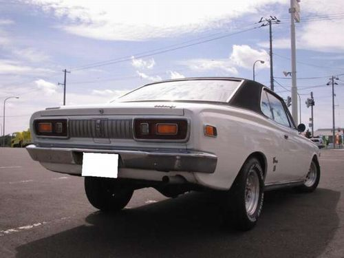 Toyota Crown S50 coupe hardtop hotrod