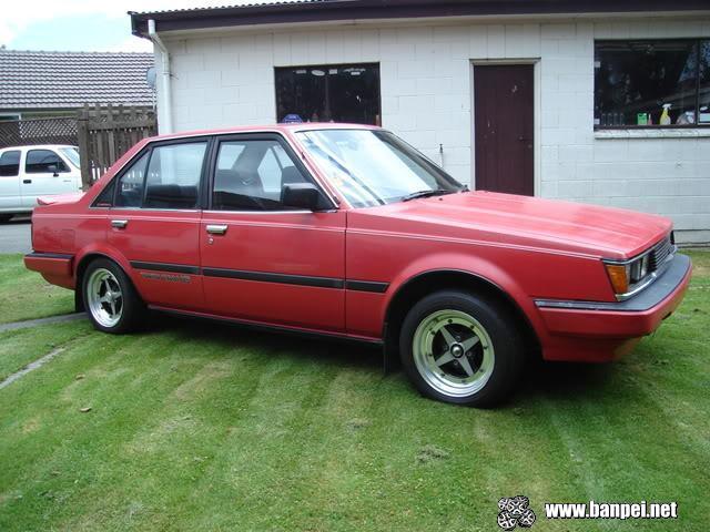Red 1985 Carina GTR AA63